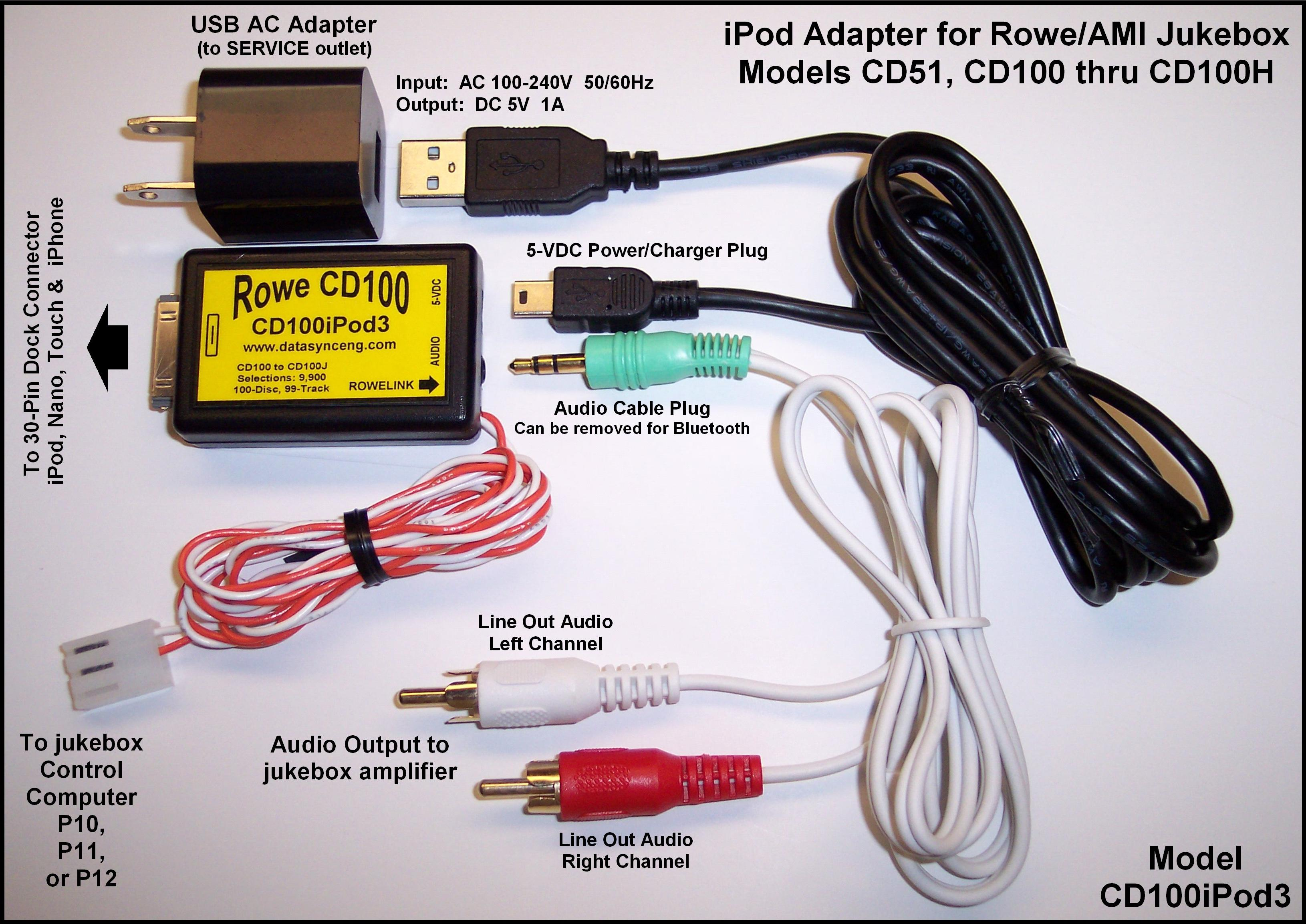 Cd Changer Interfaces And Conversion Kits For Jukeboxes Wallboxes Ipod Audio Wiring User Manual Pdf