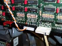 Plug the 8-pin connector into position ST12 on the Control Unit.