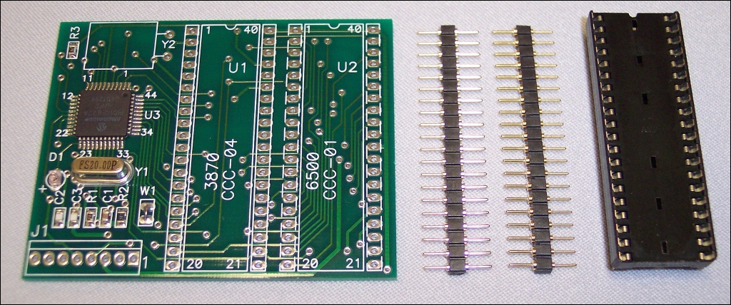 Microprocessor chip replacement for Rowe/AMI R-84 to R-88