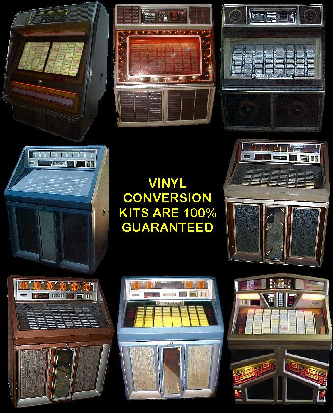 Convert Your Rowe Ami Vinyl And Combo Jukebox To Cd