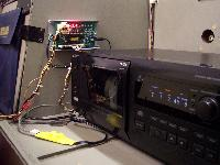 Converted R-90 with CD Combo